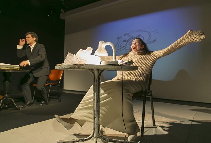 В Кинешемском театре премьера - «Письма любви» по  пьесе А. Герни фото 3