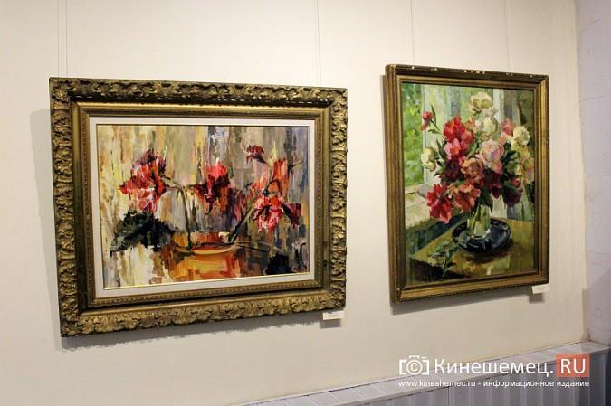 В кинешемской картинной галерее открылась выставка «Натюрморт. Интерьер» фото 4