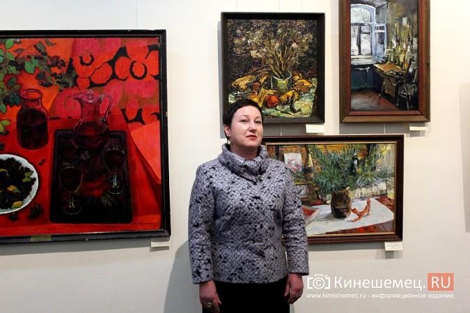 В кинешемской картинной галерее открылась выставка «Натюрморт. Интерьер» фото 14