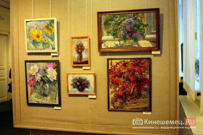 В кинешемской картинной галерее открылась выставка «Натюрморт. Интерьер» фото 5