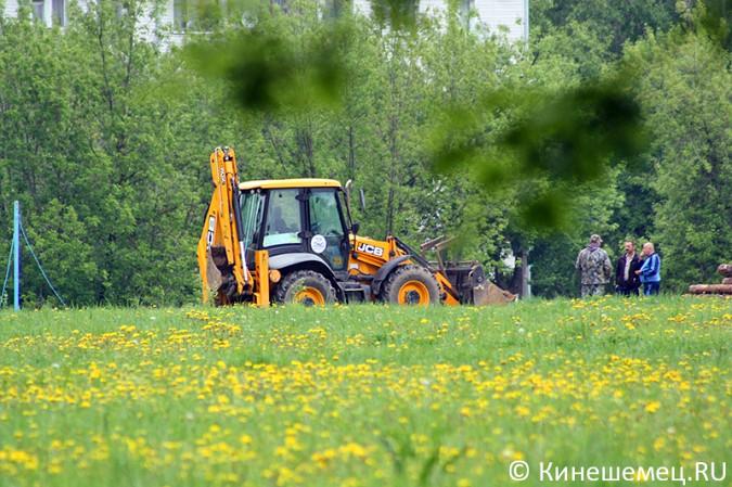 На «лесозаводском поле» в Кинешме началось строительство торгового центра фото 3