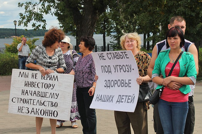 В Кинешме прошёл митинг противников «Техоснастки» фото 9