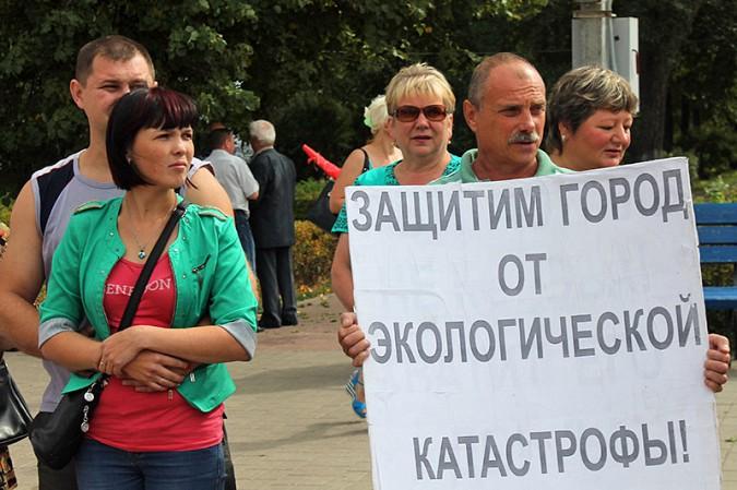 В Кинешме прошёл митинг противников «Техоснастки» фото 10