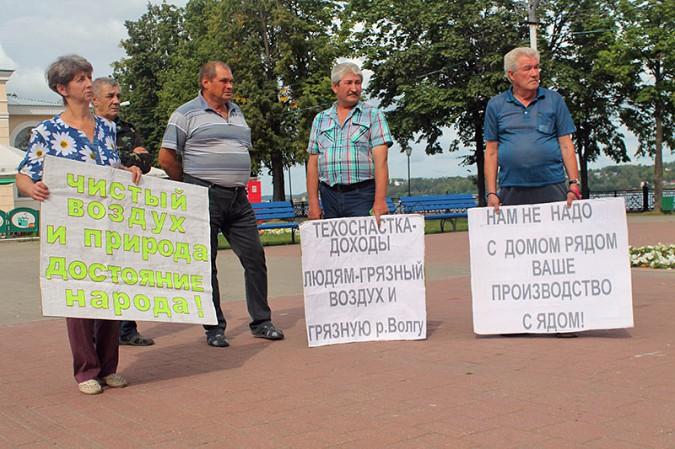 В Кинешме прошёл митинг противников «Техоснастки» фото 17