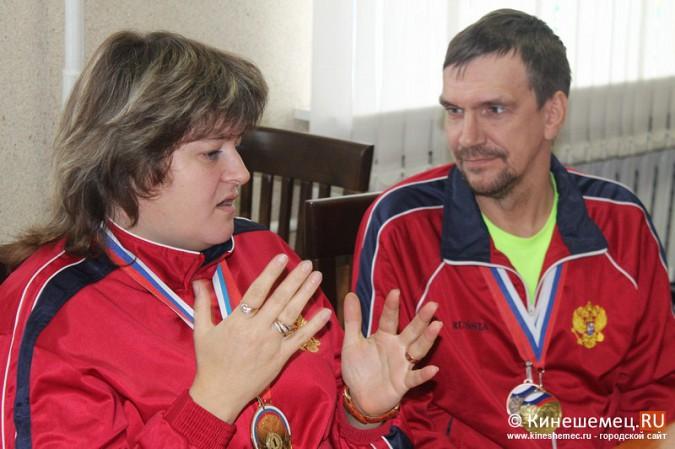 В Кинешме торжественно чествовали паралимпийцев фото 5