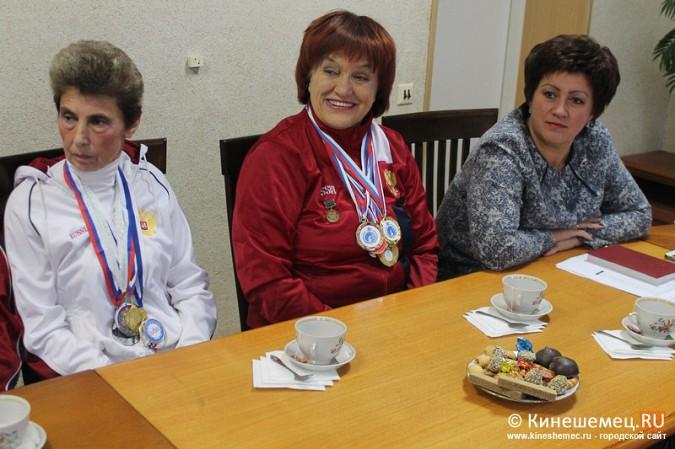 В Кинешме торжественно чествовали паралимпийцев фото 3