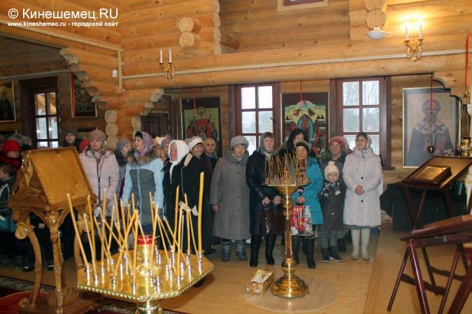 В Кинешме освятили новый православный храм фото 8