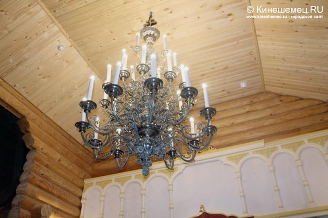 В Кинешме освятили новый православный храм фото 6
