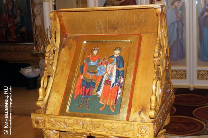 В Кинешме освятили новый православный храм фото 5