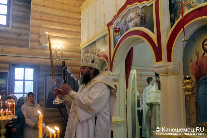 В Кинешме освятили новый православный храм фото 19