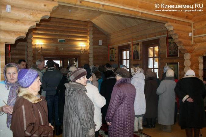 В Кинешме освятили новый православный храм фото 15