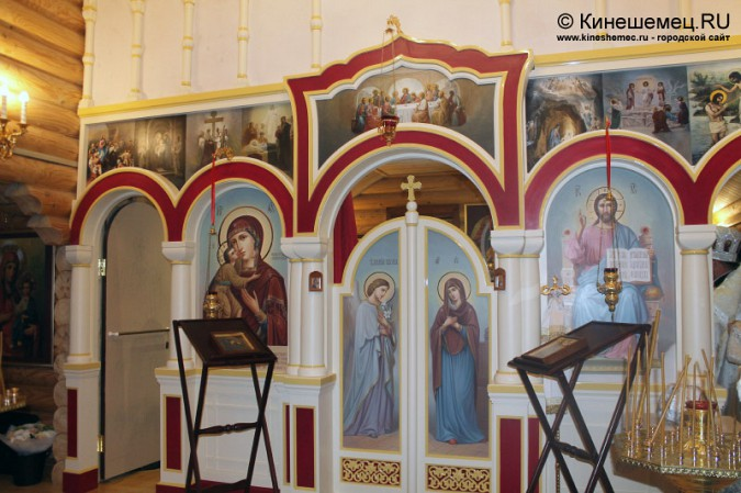 В Кинешме освятили новый православный храм фото 3