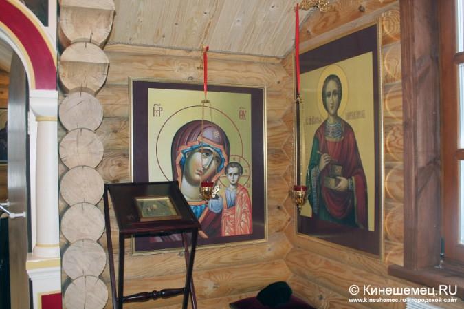 В Кинешме освятили новый православный храм фото 14