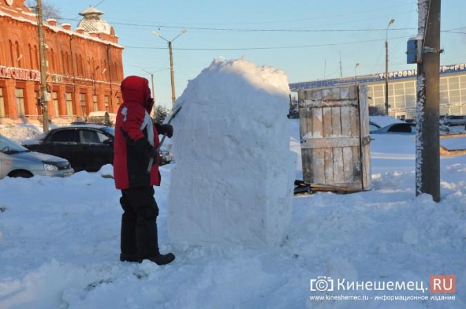 В Кинешме построят снежный городок фото 5