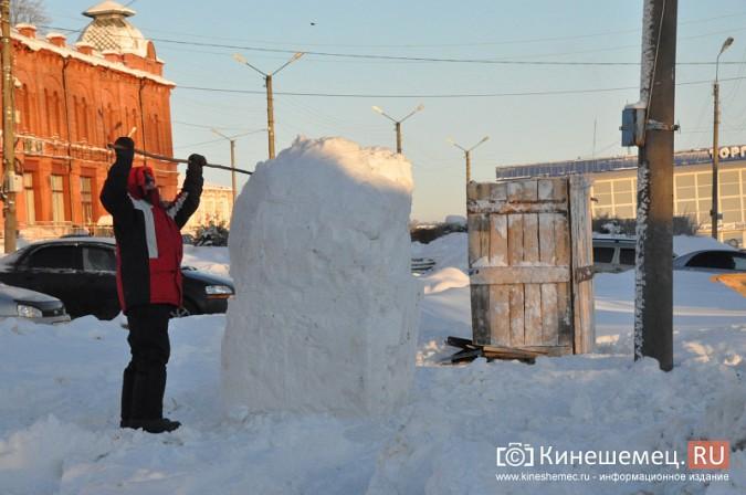 В Кинешме построят снежный городок фото 2