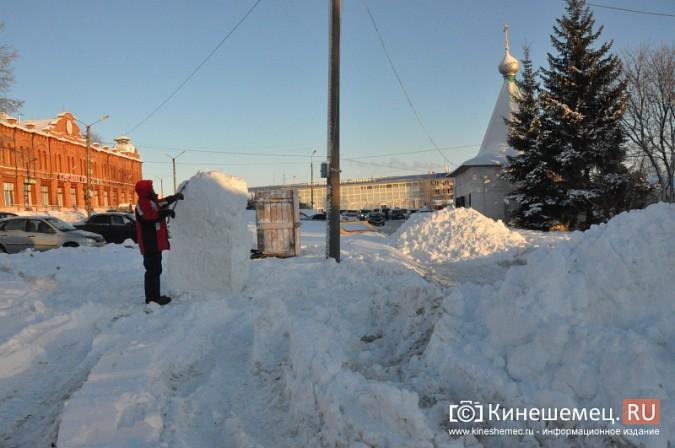 В Кинешме построят снежный городок фото 3