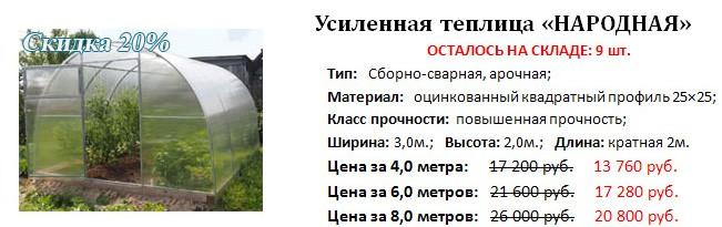 Предновогодняя распродажа теплиц от компании «Полимир» фото 4