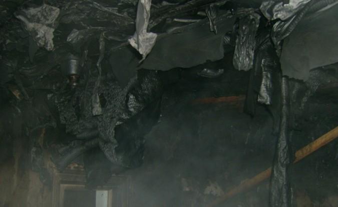 77-летний мужчина умер впожаре в своем доме