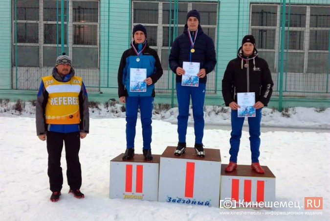 Лыжники из спортивных школ Ивановской области соревновались в кинешемском парке фото 8