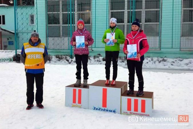 Лыжники из спортивных школ Ивановской области соревновались в кинешемском парке фото 9
