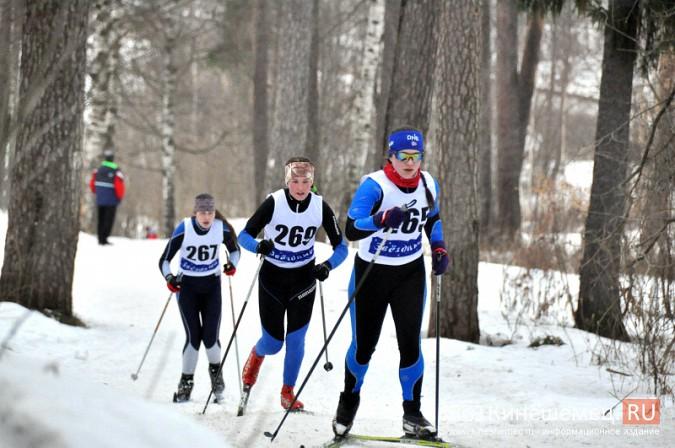 Лыжники из спортивных школ Ивановской области соревновались в кинешемском парке фото 13