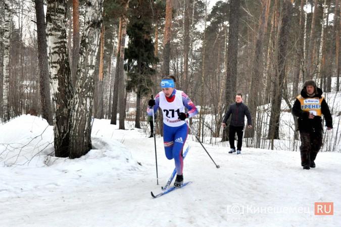 Лыжники из спортивных школ Ивановской области соревновались в кинешемском парке фото 4
