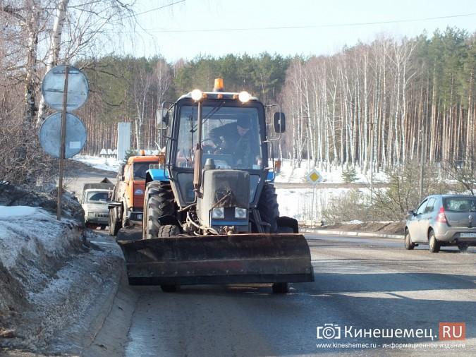В Кинешме производят поддерживающий ремонт дорог фото 2