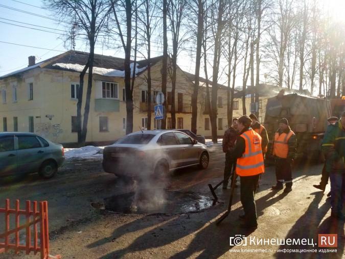 В Кинешме производят поддерживающий ремонт дорог фото 8