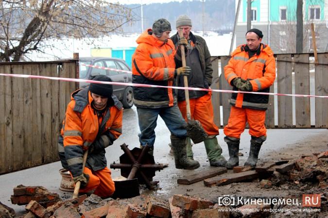 Кинешемские водоканальщики «держат удар» фото 3