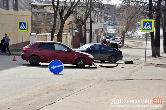 ДТП в центре Кинешмы затруднило движение фото 2