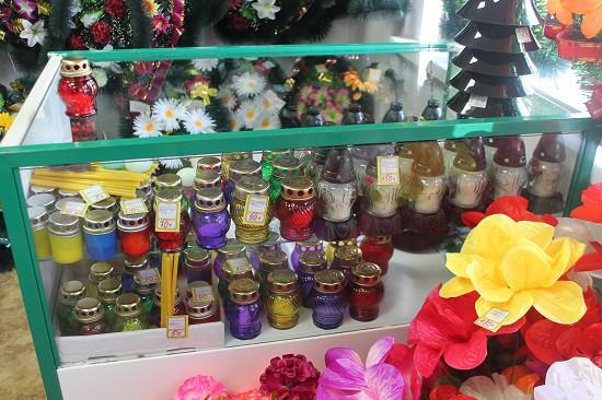 Ритуальный магазин открылся на кладбище «Затенки» фото 12