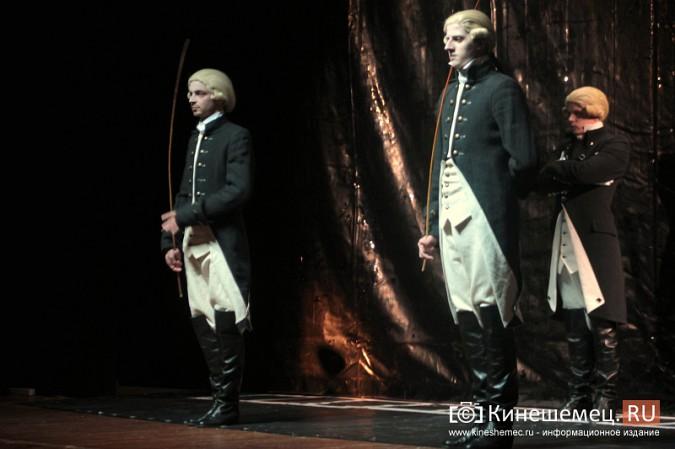 На сцене кинешемского театра «убили» Павла I фото 4