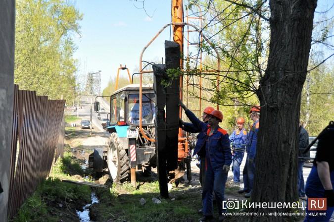 В Кинешме водитель «Лады» протаранил три железобетонных столба фото 5