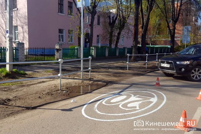 На дорогах Кинешмы продолжается нанесение разметки фото 6