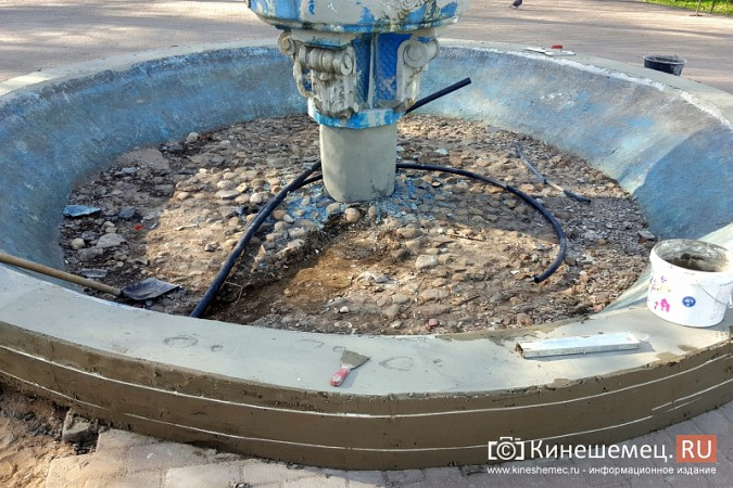 На Волжском бульваре в Кинешме запустили фонтан фото 6