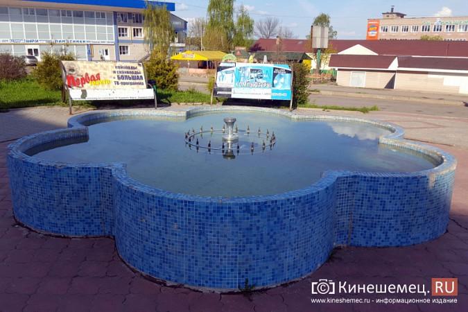 На Волжском бульваре в Кинешме запустили фонтан фото 3