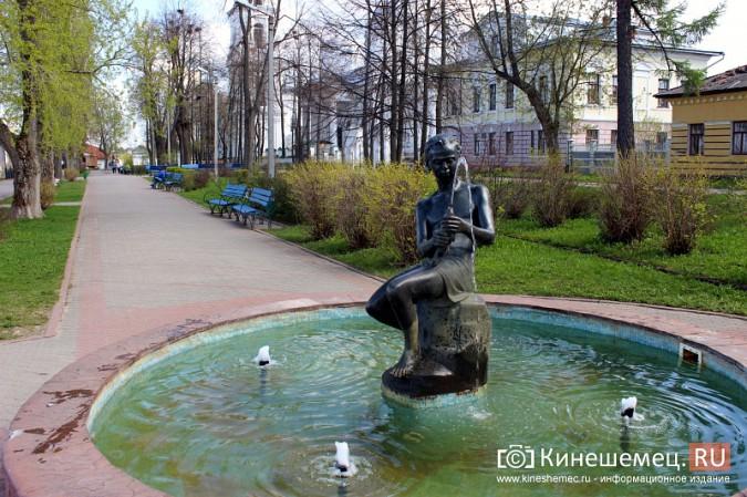 На Волжском бульваре в Кинешме запустили фонтан фото 2