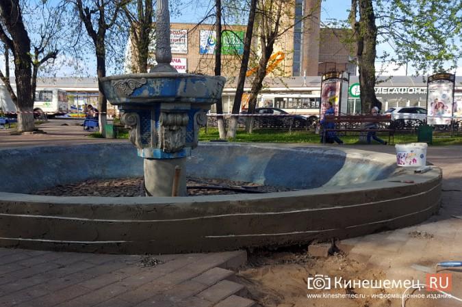 На Волжском бульваре в Кинешме запустили фонтан фото 4