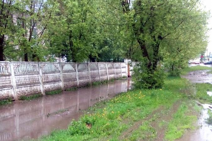 Кинешемские тротуары ушли под воду фото 6