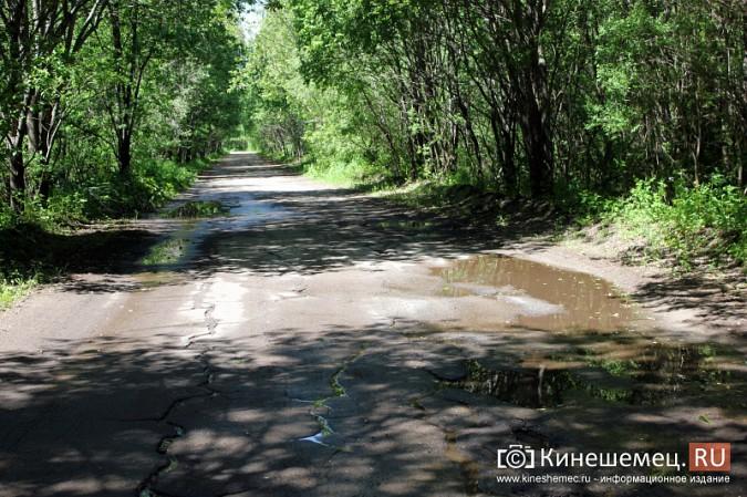 Дорога к лагерю «Радуга» требует вмешательства руководителей Ивановской области фото 14