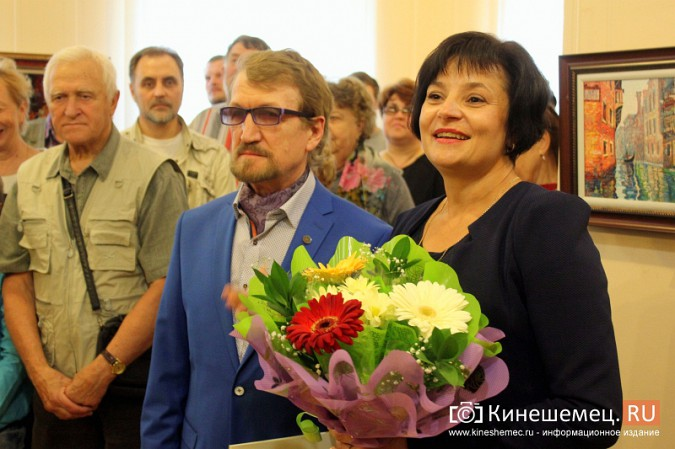 В Кинешме открылась выставка художника Евгения Трофимова фото 10