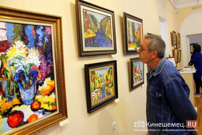 В Кинешме открылась выставка художника Евгения Трофимова фото 3