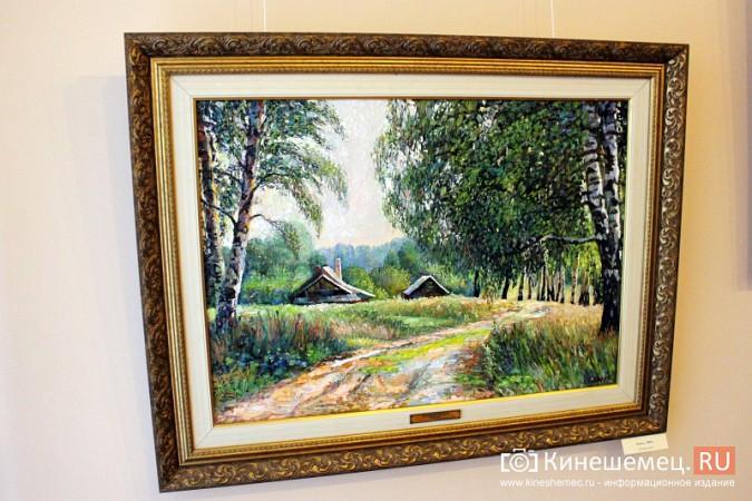В Кинешме открылась выставка художника Евгения Трофимова фото 4