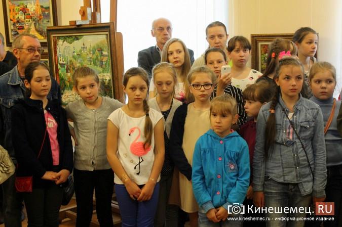 В Кинешме открылась выставка художника Евгения Трофимова фото 8