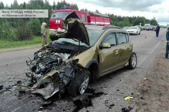 На трассе Кинешма - Иваново в ДТП погибли 3 человека фото 5