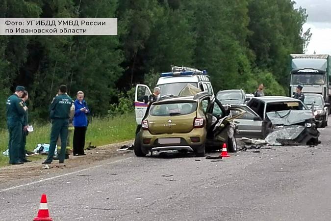 На трассе Кинешма - Иваново в ДТП погибли 3 человека фото 3
