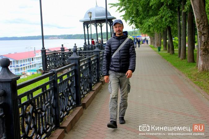 Идущий вдоль Волги путешественник добрался до Кинешмы фото 2