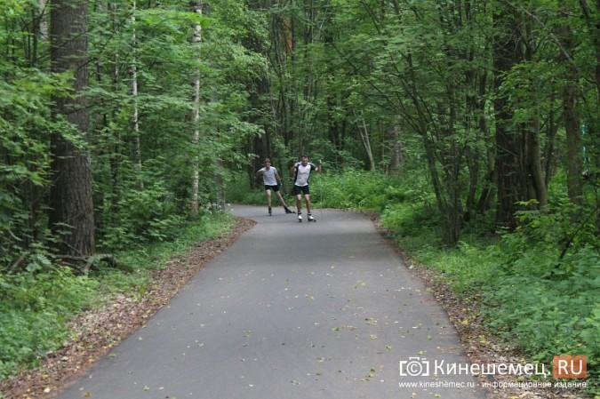 Юные кинешемские биатлонисты и лыжники готовятся к сезону фото 42