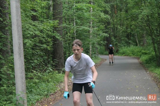 Юные кинешемские биатлонисты и лыжники готовятся к сезону фото 43