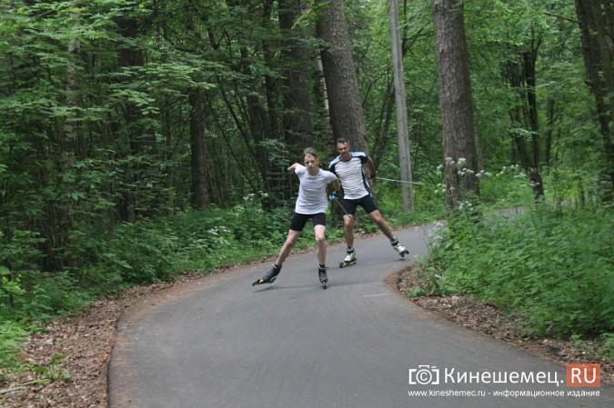 Юные кинешемские биатлонисты и лыжники готовятся к сезону фото 46